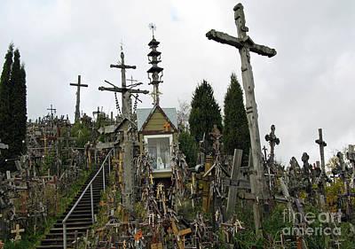 Photograph - Hill Of Crosses 10. Lithuania by Ausra Huntington nee Paulauskaite
