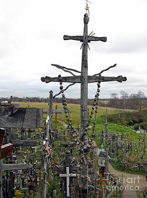 Photograph - Hill Of Crosses 11. Lithuania by Ausra Huntington nee Paulauskaite