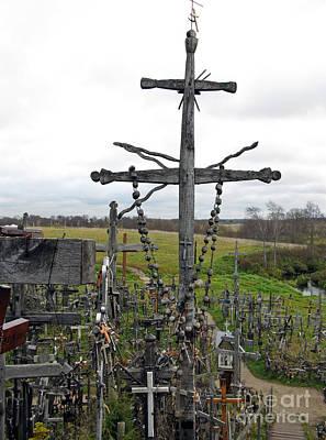 Photograph - Hill Of Crosses 11. Lithuania by Ausra Huntington nee Paulauskaite