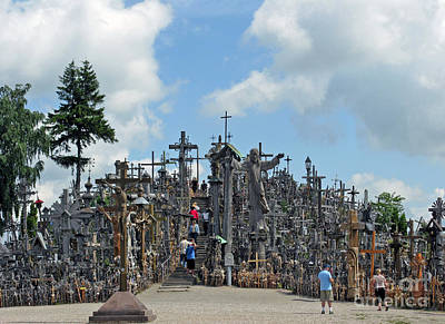 Photograph - Hill Of Crosses 12. Lithuania by Ausra Huntington nee Paulauskaite