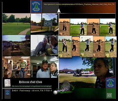 Digital Art - Hillcrest Golf Club P17 by Glenn Bautista