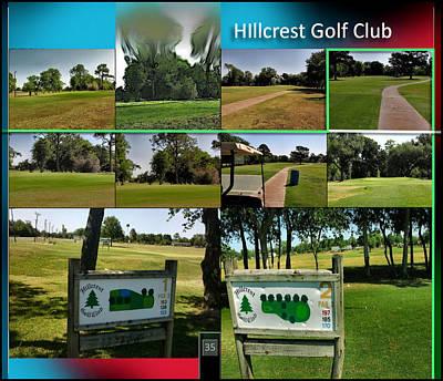 Digital Art - Hillcrest Golf Club2 P35 by Glenn Bautista