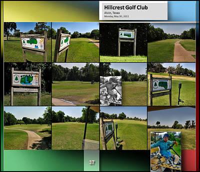 Digital Art - Hillcrest Golf Club3 P37 by Glenn Bautista