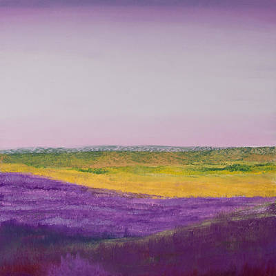 Painting - Hills Of Lavender by David Patterson