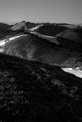 Hills Of Light And Darkness Art Print by Steven Ainsworth