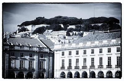 Black Commerce Photograph - Hills Of Lisbon by John Rizzuto