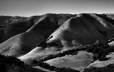 Hills Of San Luis Obispo II Print by Steven Ainsworth