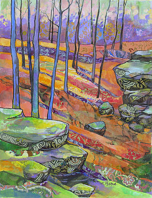 Painting - Hillside Remembered by Marty Husted