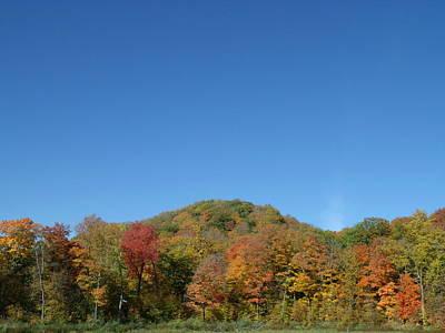 Hilly Fall Foliage Original by Brian  Maloney