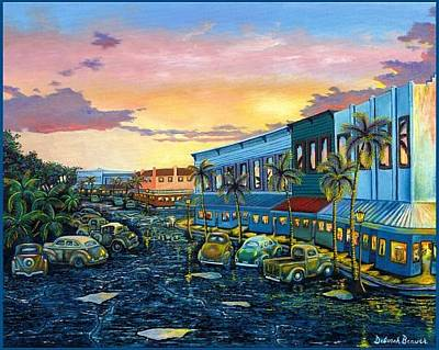 Painting - Hilo After The Rain by Deborah Beaver