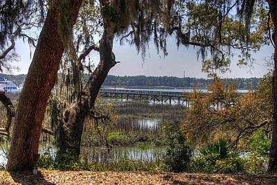 Hilton Head Scenic Art Print by Keith Wood