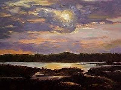 Painting - Hilton Head Sunset by Marcia Hero