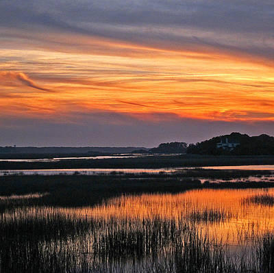 Hilton Head Sunset Art Print