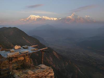 Himalaya Photograph - Himalaya Range by Nina Papiorek