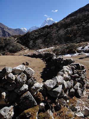 World Photograph - Himalayan Curves by Nika One