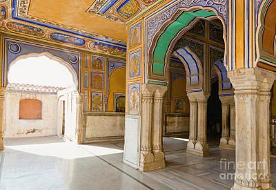 Hindu Palace Interior Art Print by Inti St. Clair