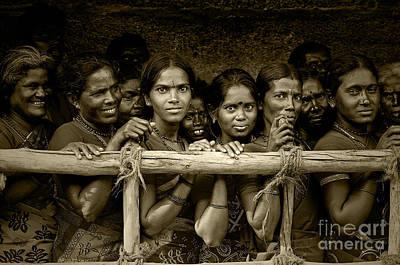 Photograph - Hindu Pilgrims On New Year's Day by Valerie Rosen