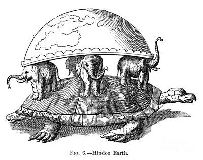 Photograph - Hindu Universe by Granger