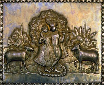 Photograph - Hinduism: Shepherd Deity by Granger