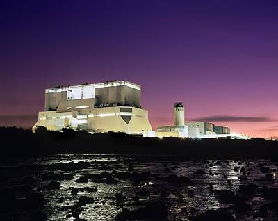 Hinkley Point Nuclear Power Station Art Print