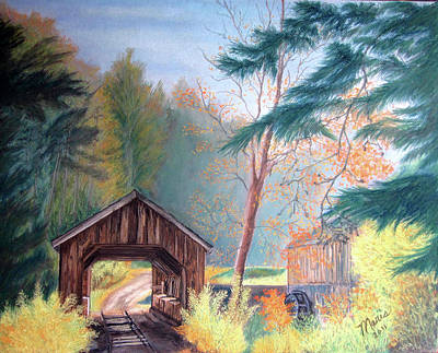 Hints Of Fall Art Print by Maris Sherwood