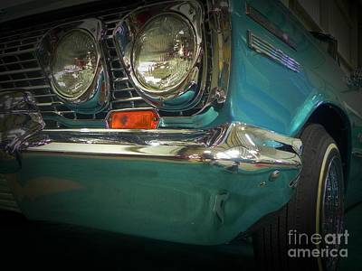 Tricked-out Cars Photograph - Hipnotic Front by Chuck Re