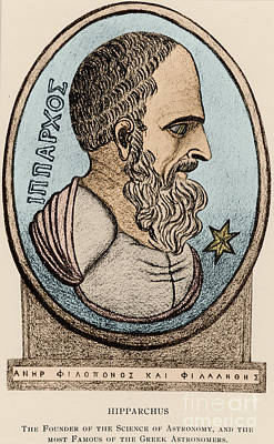 Hipparchus, Greek Astronomer Print by Photo Researchers, Inc.