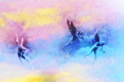 Hippie Heaven Art Print