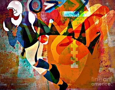 Yesayah Mixed Media - His Game by Fania Simon