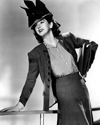 His Girl Friday, Rosalind Russell,1940 Art Print
