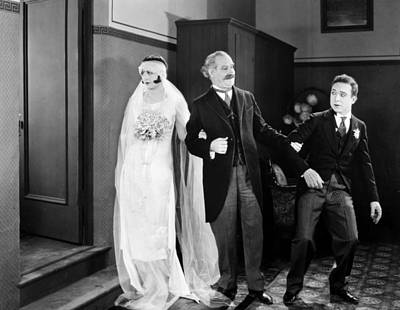 His Marriage Wow, 1925 Print by Granger
