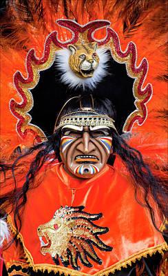 Hispanic Columbus Day Parade Nyc 11 9 11 Art Print by Robert Ullmann
