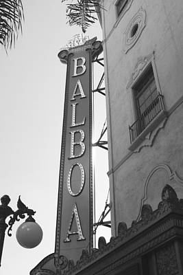 Photograph - Historic Balboa Theater by John Noel