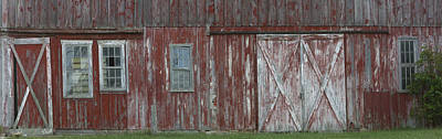 Photograph - Historic Barn On Old National Road by Gregory Scott