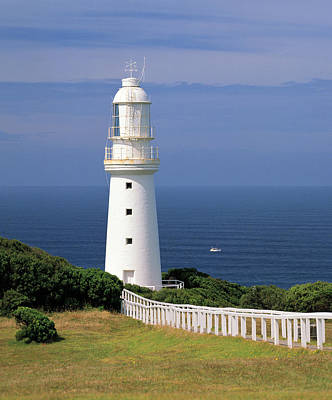 Historic Cape Otway Lighthouse, Built In 1848, Victoria, Australia Art Print by Peter Walton Photography