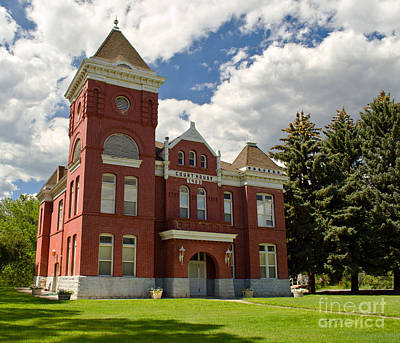 Photograph - Historic Courthouse Marysvale Utah by Donna Greene