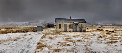 Historic Farm After Snowfall Otago New Art Print by Colin Monteath