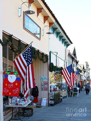 Historic Niles District In California Near Fremont . Main Street . Niles Boulevard . 7d10693 Art Print