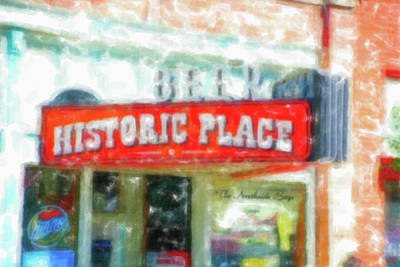 Digital Art - Historic Place Ogden Utah by Gary Baird
