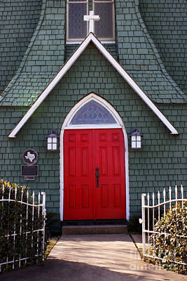 Photograph - Historic Red Doors by Joy Tudor