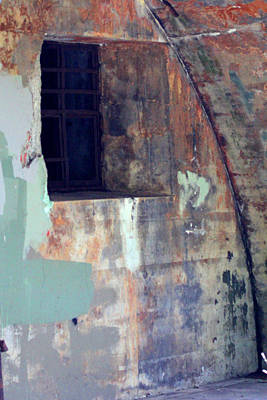 Photograph - Historic Rusty Walls by Marie Jamieson