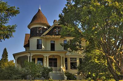 Photograph - Historic Victorian House by Tyra  OBryant