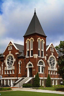 Historical 1901 Uab Spencer Honors House - Birmingham Alabama Art Print