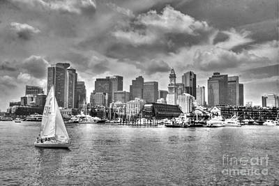 Photograph - Historical Boston Bw by Morgan Wright