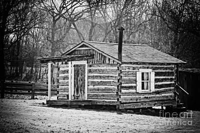 Historical Cabin Art Print
