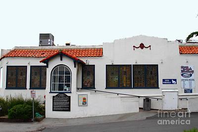Historical Moss Beach Distillery At Half Moon Bay . 7d8172 Art Print by Wingsdomain Art and Photography