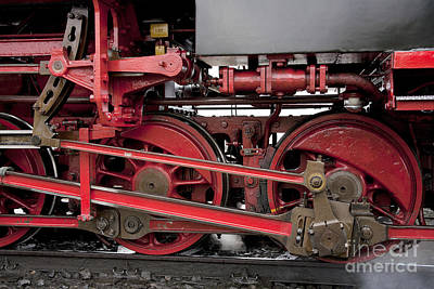 Technical Photograph - Historical Steam Train by Heiko Koehrer-Wagner
