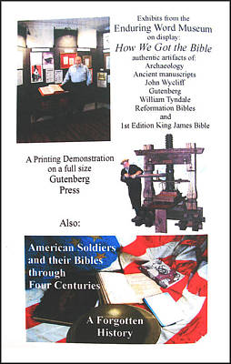 Photograph - History - Gutenberg Press by Glenn Bautista
