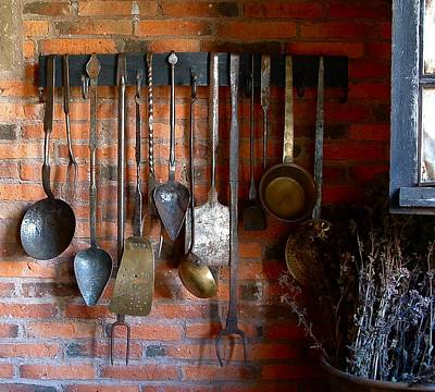 Photograph - History Tools Of The Kitchen Trade by William OBrien