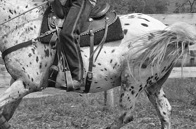 Dressage Photograph - Hittin The Trail by Betsy Knapp